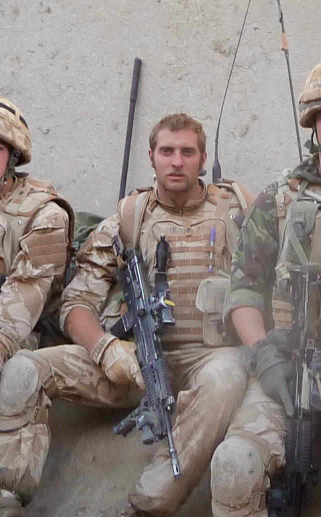 We can reveal the Marine-turned-magician is a war hero who saved a squaddie's life in Afghanistan